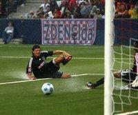 Mario Gomez im Testspiel gegen RB Salzburg