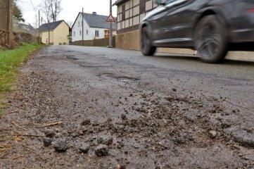 Die Reinsdorfer Ortsdurchfahrt wird bald ausgebaut.