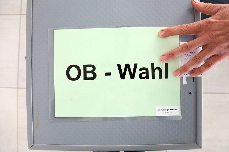 OB-Wahl in Zwickau: Wahlbeteiligung bis 16 Uhr bei 19,5 Prozent
