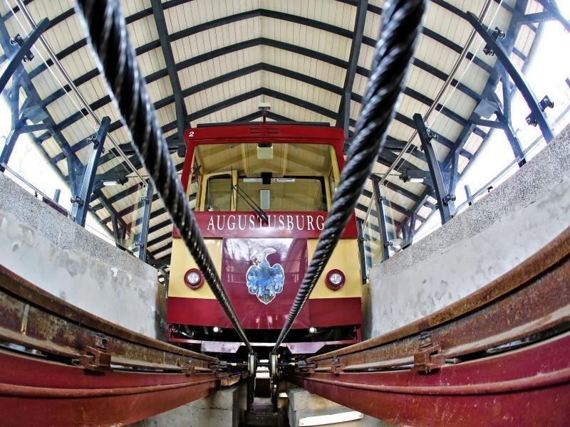 Drahtseilbahn wegen Wartungsarbeiten gesperrt
