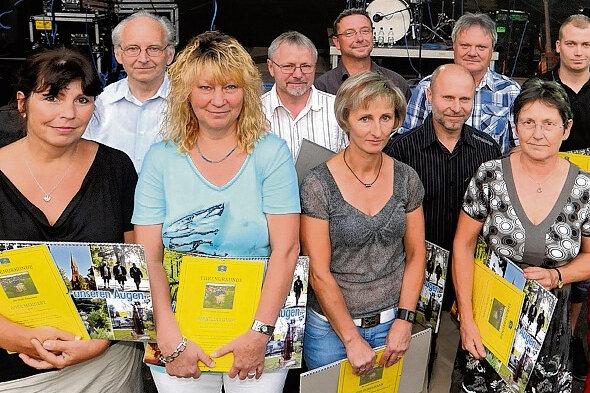 Diese Trainer und Übungsleiter wurden zum Parkfest in Hainichen ausgezeichnet.