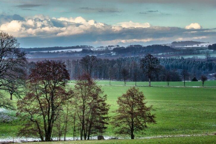 Der Winter stellt im Erzgebirge seine Weichen