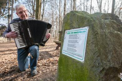 Tobias Mehner, Kantor im Ruhestand und aktuell unter anderem aktiv als musikalischer Leiter des Akkordeonorchesters Fisarmonicer in Niederwiesa