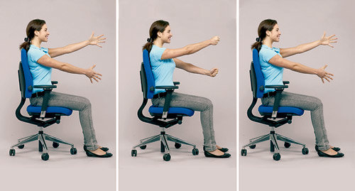 Fitness-Programm für den Arbeitsplatz