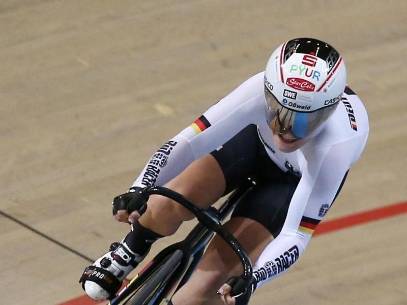Der Zustand der deutschen Bahnrad-Fahrerin Kristina Vogel ist nach ihrem schweren Trainingsunfall stabil.