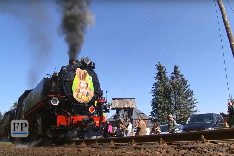 Ansturm auf Osterhasen-Express