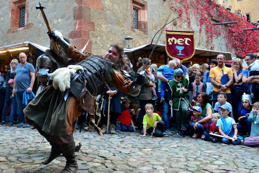 Fast wie in Zeiten vor Corona: Wenn nicht nur Ritter die Burg belagern