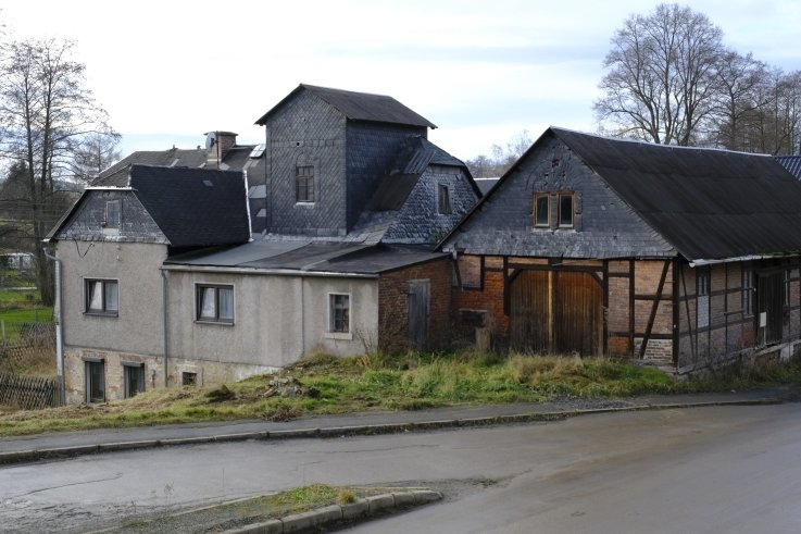 Die Geschichte der alten Mühle in Hauptmannsgrün reicht tief in die Vergangenheit zurück.