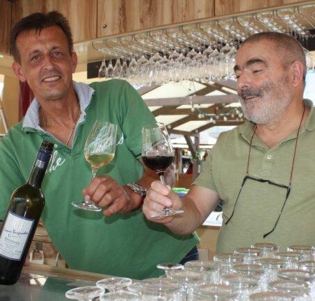 Trotz Coronakrise soll es dieses Jahr ein Weinfest in Chemnitz geben.