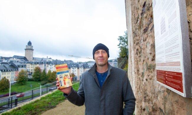 Laurent Guillet aus Frankreich besuchte am Wochenende Plauen, um Aufnahmen für seinen Internetauftritt zu machen.