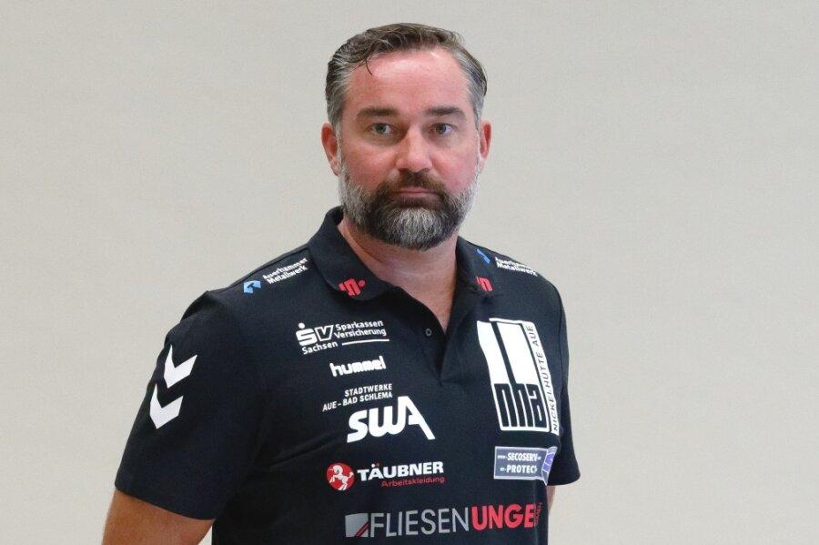 EHV Aue-Trainer Stephan Swat.
