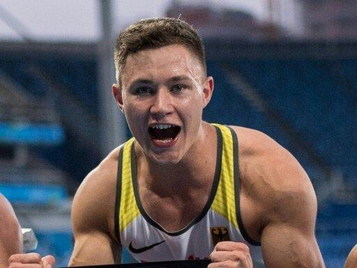 Felix Streng holt Gold und EM-Rekord über 200 Meter