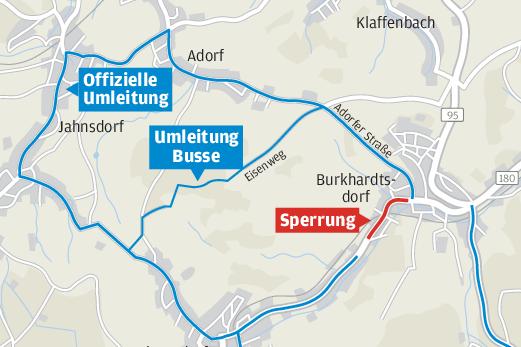 Burkhardtsdorfer von Bauarbeiten genervt