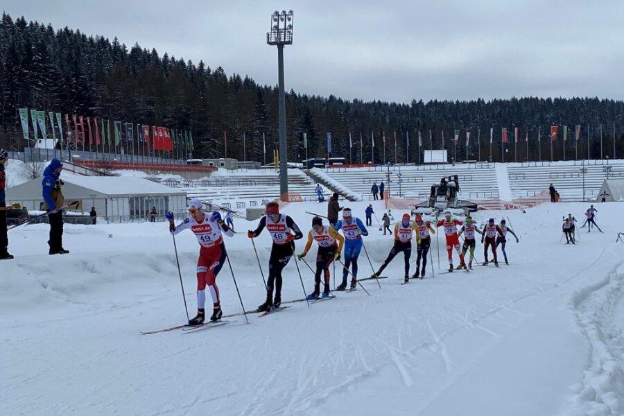 Continentalcup in Vogtland-Arena: Erneut norwegischer Doppelsieg