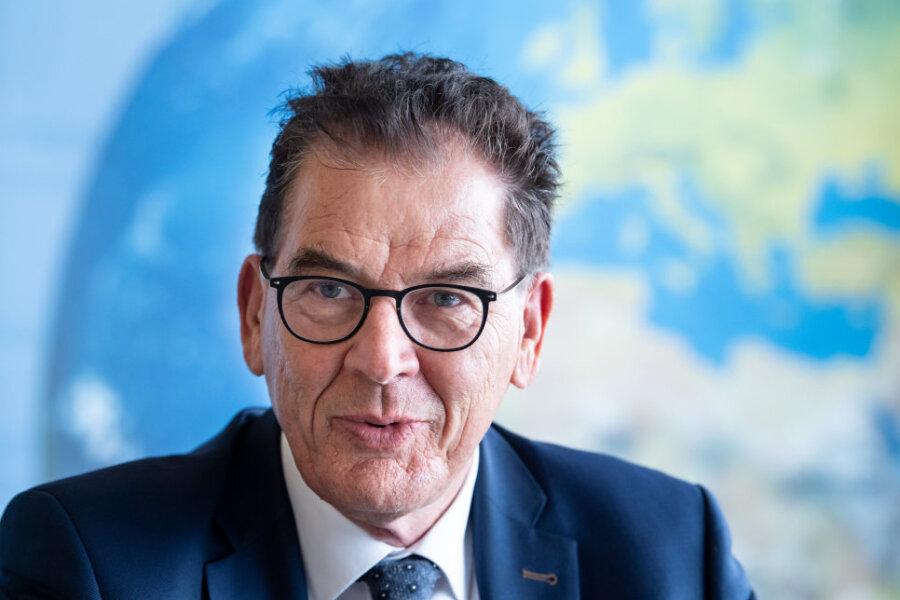 Gerd Müller - Bundesminister für wirtschaftliche Zusammenarbeit und Entwicklung
