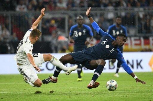 Deutschland überzeugt gegen den Weltmeister