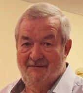 Peter Fischer - Der 83-Jährigeverschenkte ein Bild an Oberlauterbach