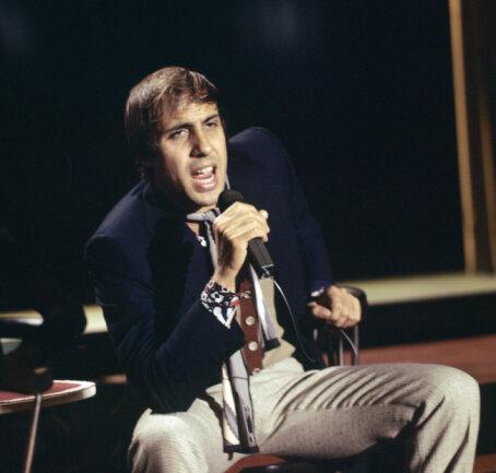 Adriano Celentano im ZDF-Nightclub am 07. Oktober 1970.