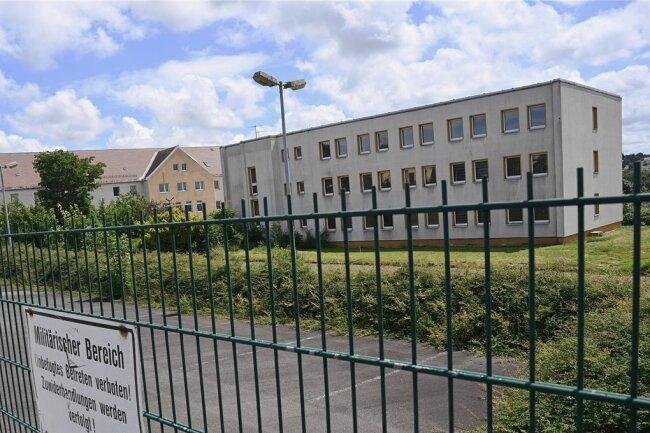 An der Glösaer Straße hier soll Ausbildungszentrum des Zolls entstehen.