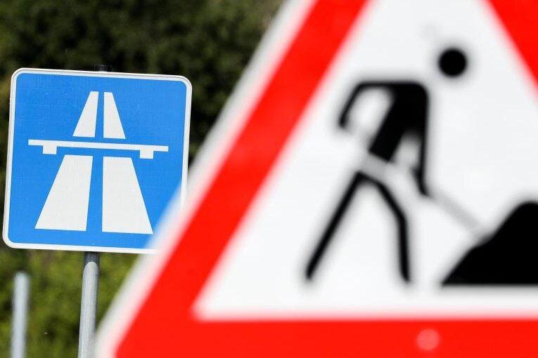 Chemnitz: Monatelang Bauarbeiten auf Autobahnzubringer