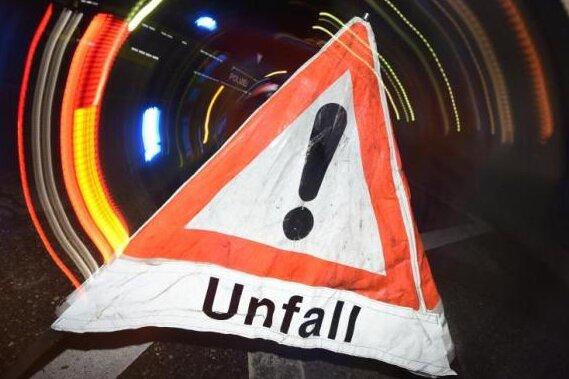 Mehrere Unfälle auf A72