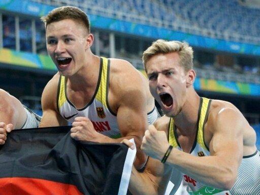 Deutschen Athleten gewinnen vier Goldmedaillen