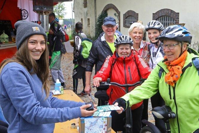 Mit dem Fahrrad rund um Lichtenstein, Heinrichsort und Rödlitz