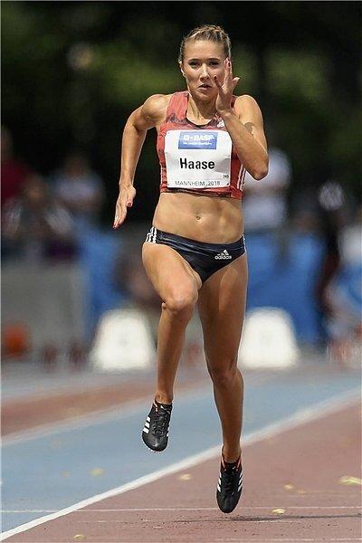 Sprinterin Rebekka Haase kam im bisherigen Saisonverlauf noch nicht wie erhofft auf Touren, will in Nürnberg aber ihre Chancen nutzen.
