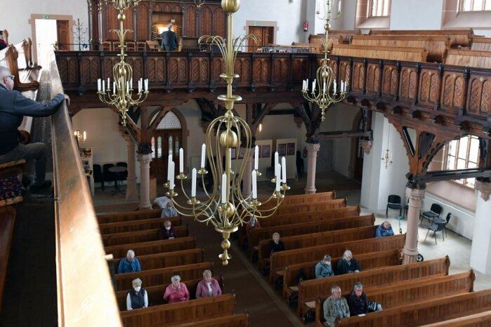 Musikalische Mittagspause in der Oederaner Stadtkirche