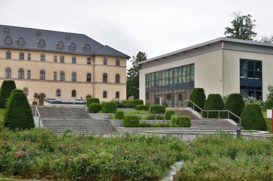 Das Schlosspalais mit dem Daetz-Centrum in Lichtenstein: Das Oberlandesgericht in Dresden hat entschieden, dass die Daetz-Stiftung mit ihren Exponaten ausziehen muss.