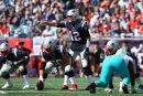 Tom Brady (Nr. 12) führt die Patriots zum zweiten Sieg