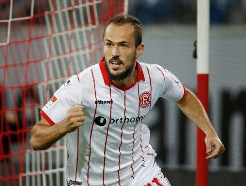 Emir Kujovic erzielte einen der fünf Fortuna-Treffer
