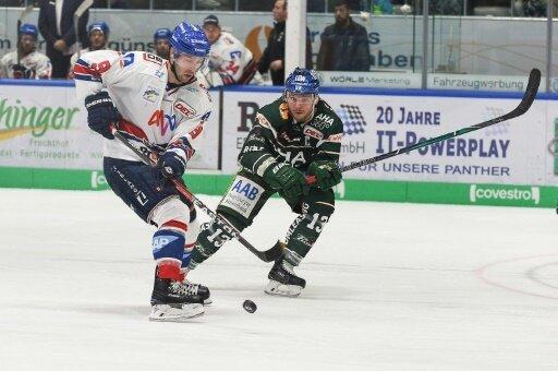 Adler Mannheim gewinnen gegen Augsburg mit 4:0