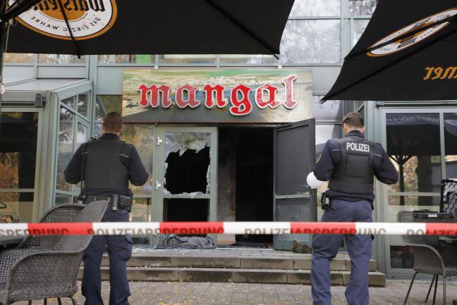 """Zum Brandanschlag auf das türkische Restaurant """"Mangal"""" an der Straße der Nationen im Oktober 2018 wird nach wie vor ermittelt."""