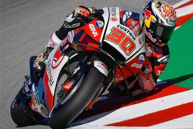 Takaaki Nakagami fuhr in Jerez auf Platz vier - das beste Ergebnis eines Honda-Piloten in dieser MotoGP-Saison.