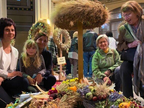 Heike Ludwig, Linda Beck, Angelika Scheuerl, Elke Bischoff und Annerose Zwinzscher (v.l.) haben unter anderem einen Preis der Kategorie Freestyle gewonnen.