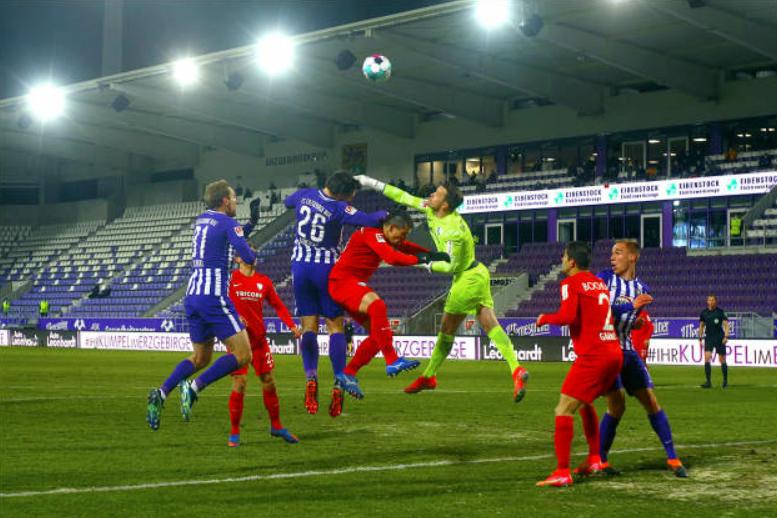 FC Erzgebirge Aue schlägt Aufstiegsaspiranten Bochum mit 1:0