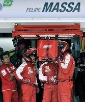 Sorge um Felipe Massa