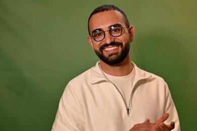Kassem Taher Saleh geht als Spitzenkandidat der Grünen Jugend Sachsen für den Bundestag ins Rennen.