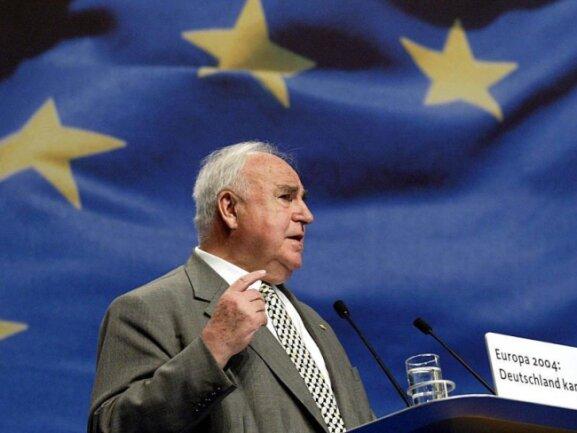 Nach dem Altkanzler Helmut Kohl wird in Chemnitz keine Straße benannt.