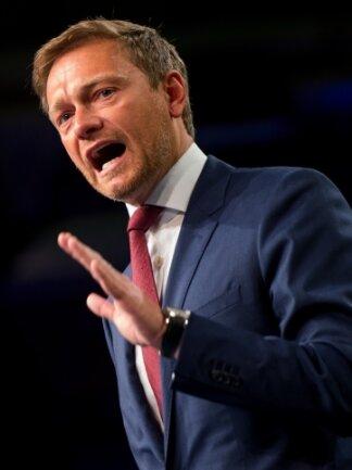 FDP-Chef Christian Lindner zog seine Parteitagsrede um einen Tag vor.