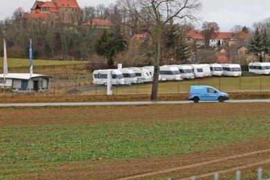 Auf der Fläche gegenüber vom Caravanzentrum an B 173 in Schönfels soll im nächsten Jahr ein Markt des Discounters Norma errichtet werden. Das Genehmigungsverfahren ist weit fortgeschritten.
