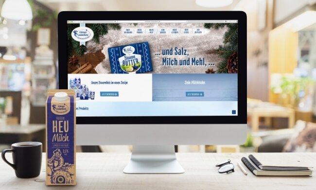 Völlig neu gestaltet wurde in den vergangenen Wochen der Internetauftritt des Peniger Unternehmens.