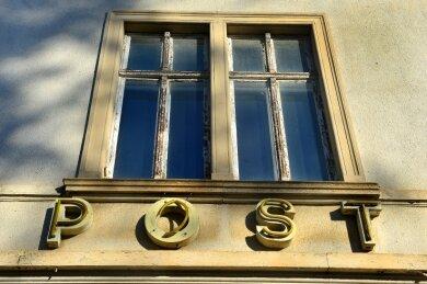 Früher wurde das Gebäude Humboldtstraße 12 als Post genutzt.