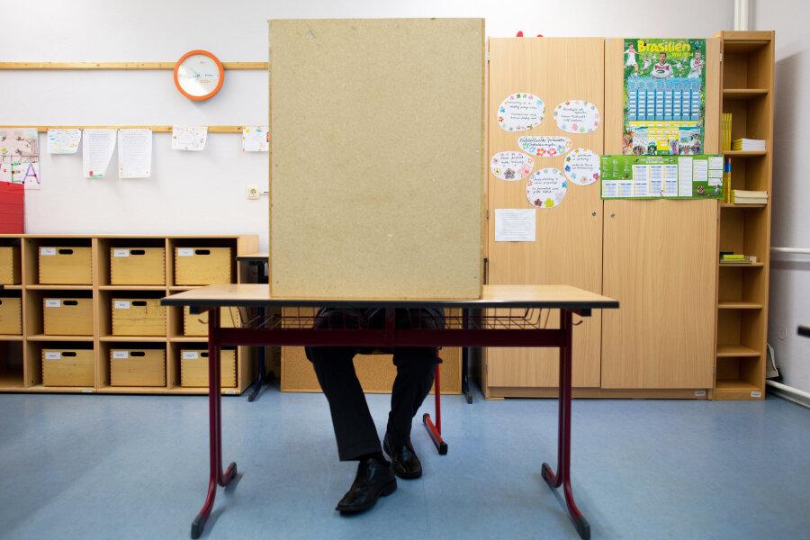 Umfrage: CDU liegt in Sachsen deutlich vorne