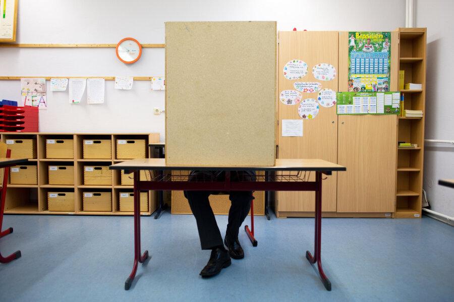 Landtagswahl: Institut sieht CDU fast überall vorn