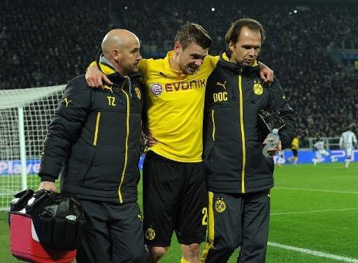 Musste verletzt ausgewechselt werden: Lukasz Piszczek