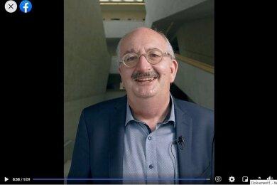 In einer Videobotschaft hat Rektor Ludwig Hilmer am Donnerstag über die neue Corona-Strategie der Hochschule Mittweida informiert.