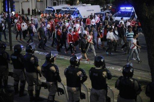 In Buones Aires gab es heftige Ausschreitungen