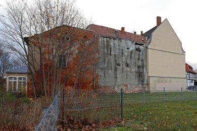In den nächsten Jahren wird der denkmalgeschützte Gebäudekomplex an der Brüderstraße in Glauchau saniert.